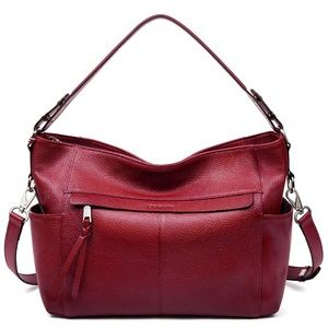 Handbags - NEW Women's Genuine Leather Boho Handbags